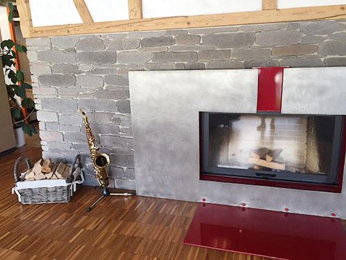 訪問先2:暖炉屋さん