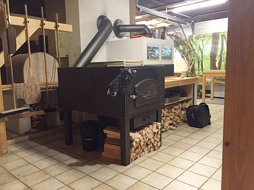 お洒落な暖炉