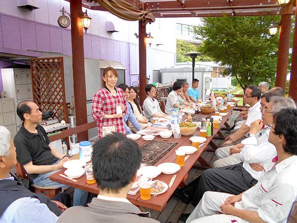 ウッドデッキ神戸牛BBQ