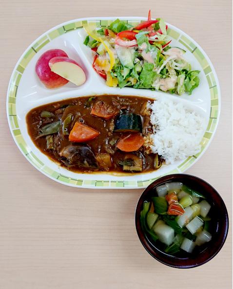 夏野菜たっぷりカレー