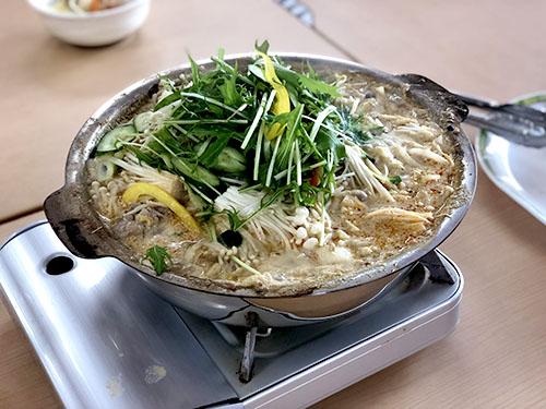 お野菜たっぷり坦々鍋