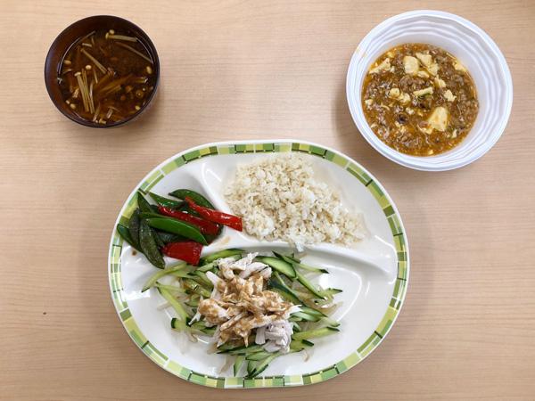 4月10日 麻婆豆腐