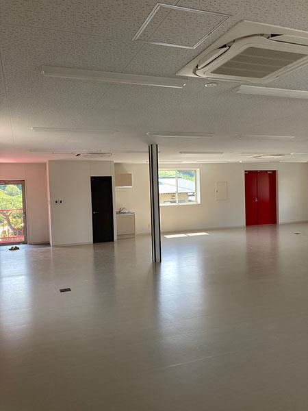 2階の事務所スペース